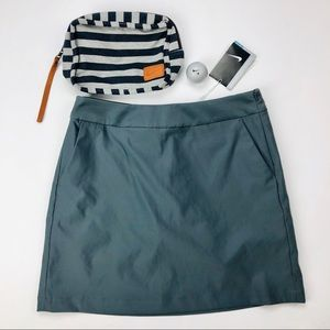 Nike Dri-Fit Golf Skorts Charcoal Grey Size 4